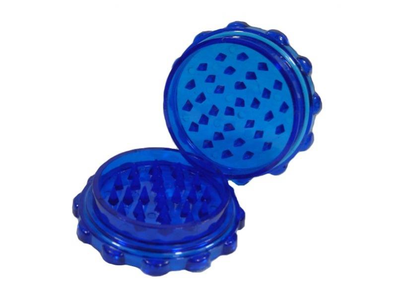 Drtička - plast, ozubené kolečko, modrá
