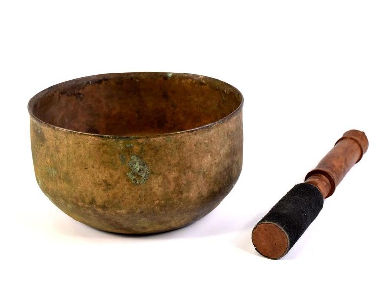 """Tibetská mísa, antik, """"Old Jambati"""", průměr 17cm"""