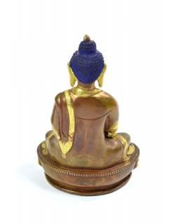 Soška, Buddha Amithaba, zlaceno, 15 cm
