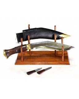 """Khukri - Sirupate 8"""", dřevěná rukojeť, nůž 33cm, čepel 21cm"""