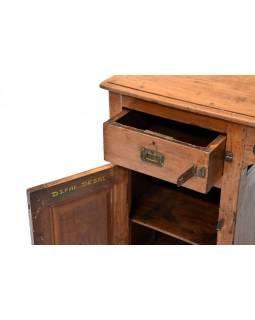 Psací stůl z teakového dřeva, 129x56x79cm