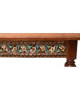 Konferenční stolek z teakového dřeva, 163x76x61cm