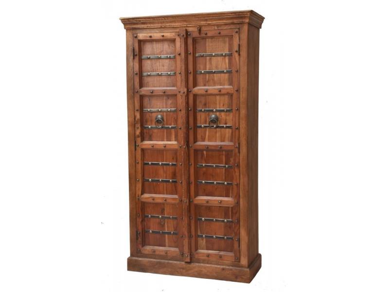 Šatní skříň vyrobená z mangového dřeva, 99x44x190cm
