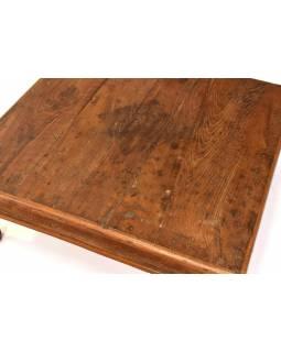 Čajový stolek z teakového dřeva, 51x51x19cm