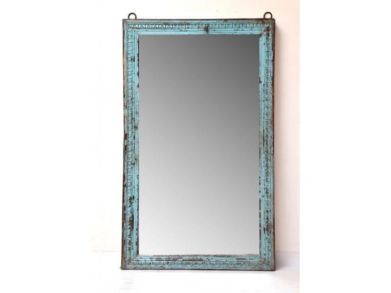 Zrcadlo v rámu z teakového dřeva, 105x9x176cm