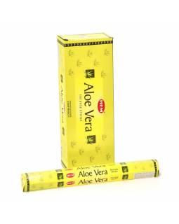 Indické vonné tyčinky Aloe Vera, HEM, 23cm, 20ks