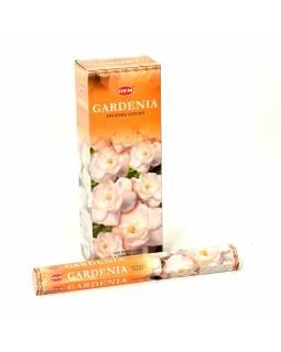 Indické vonné tyčinky Gardenia, HEM, 23cm, 20ks