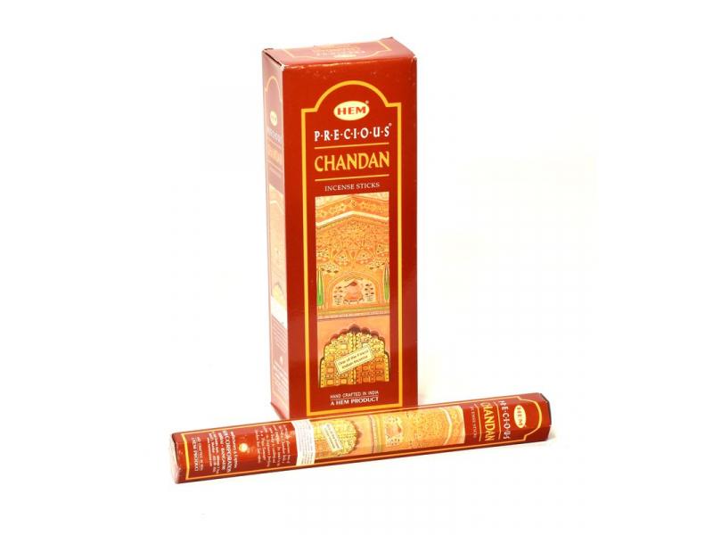 Indické vonné tyčinky Precious Chandan, HEM, 23cm, 20ks
