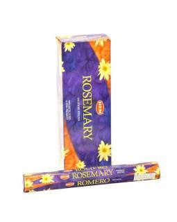 Indické vonné tyčinky Rosemary, HEM, 23cm, 20ks