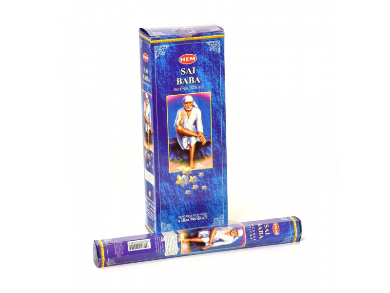 Indické vonné tyčinky Sai Baba, HEM, 23cm, 20ks