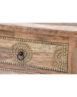 Šuplíková komoda z mangového dřeva, 50x42x95cm
