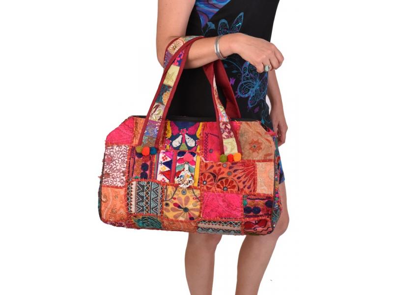 Unikátní taška z Gudžarátu, 50x40cm