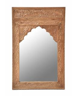 Zrcadlo v rámu z mangového dřeva, 76x6x120cm