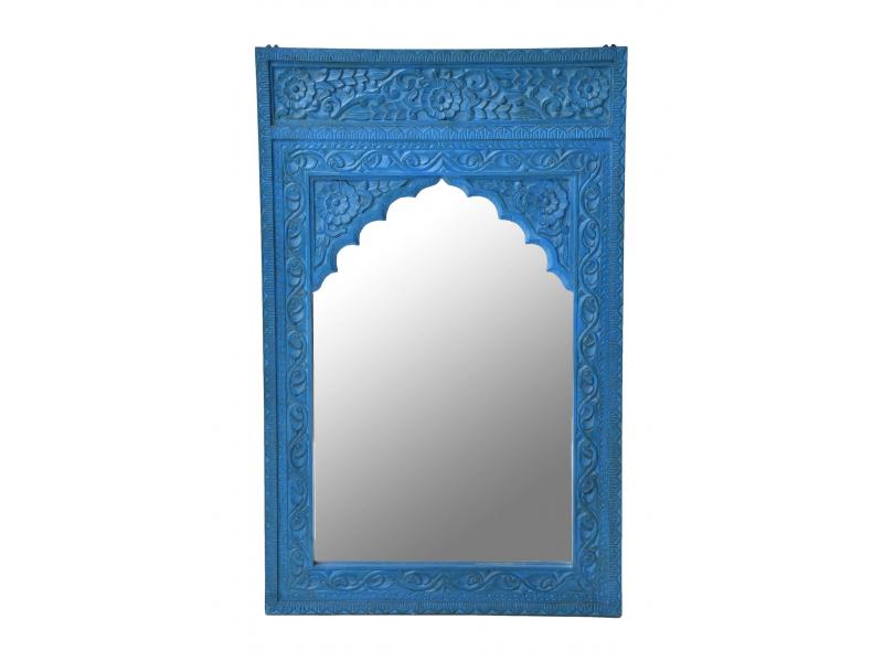 Zrcadlo v rámu z mangového dřeva, 75x6x120cm