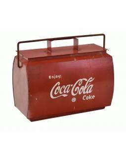 """Plechová chladnička """"Coca Cola"""", 43x23x40cm"""