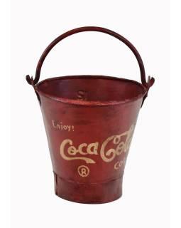 "Plechová nádoba na led ""Coca Cola"", 24x24x26cm"