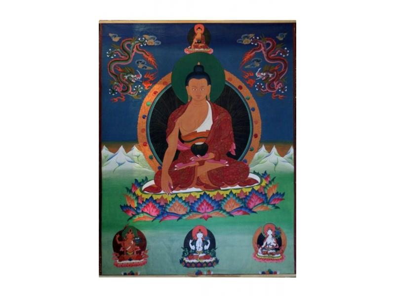 Tanka, Buddha, 147x187cm
