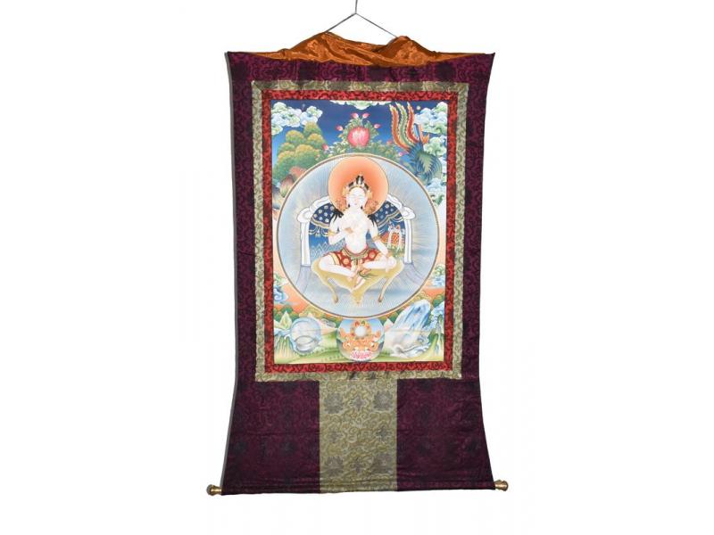 Thangka, Garab Dorje, přímé uvedení do stavu poznání, 108x150cm
