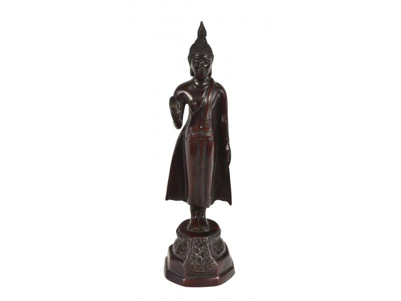 Narozeninový Buddha, pondělí, hnědý, pryskyřice, 25cm