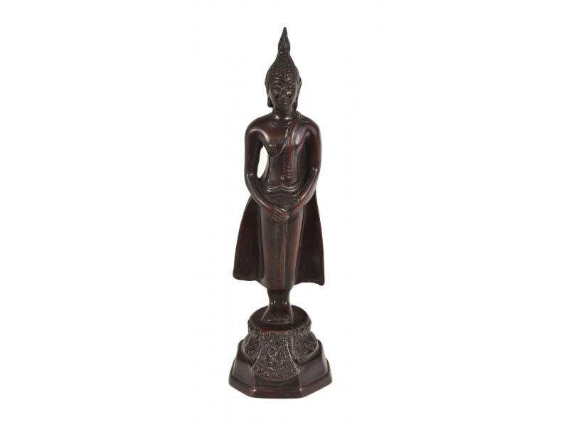 Narozeninový Buddha, neděle, hnědý, pryskyřice, 25cm