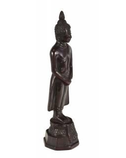 Narozeninový Buddha, neděle, pryskyřice, tmavě hnědý, 30cm