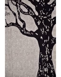 Přehoz na postel se stromem života, 210x146cm