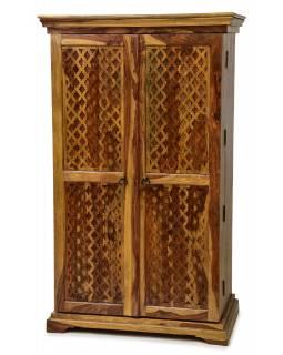 Bar z palisandrového dřeva, 90x55x150cm