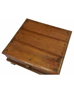 Čajový stolek z teakového dřeva, 62x58x30cm