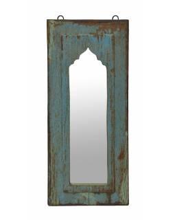 Zrcadlo v rámu z teakového dřeva, 25x3x59cm