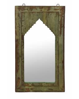 Zrcadlo v rámu z teakového dřeva, 36x4x63cm