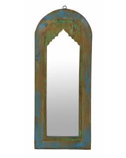 Zrcadlo v rámu z teakového dřeva, 31x4x74cm