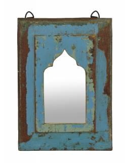 Zrcadlo v rámu z teakového dřeva, 22x3x31cm