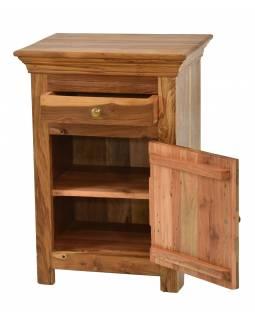 Noční stolek z mangového dřeva, 50x40x70cm