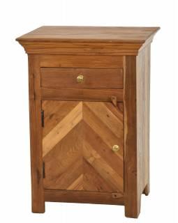 Noční stolek vyrobený z mangového dřeva, 50x40x70cm