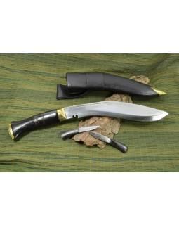 "Khukri nůž, ""Nepal Army"", 9"", rohovinová rukojeť, nůž 35cm, čepel 22cm"