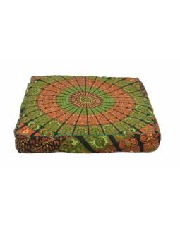 Meditační polštář, čtverec, 80x80x16cm