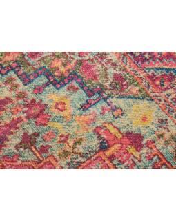Koberec, ručně tkaný, bavlna, 120x200cm