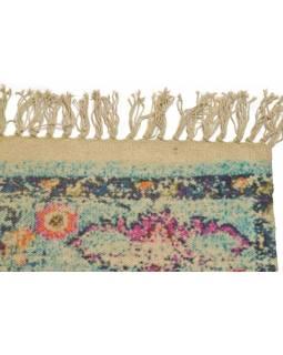 Koberec, ručně tkaný, bavlna, 116x200cm