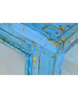 Prosklená skříňka z teakového dřeva, 79x40x108cm