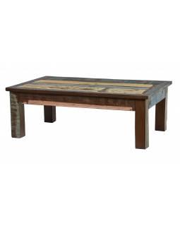 """Konferenční stolek v """"Goa"""" stylu, teakové dřevo, 123x77x43cm"""