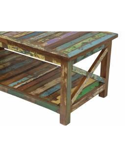 """Konferenční stolek v """"Goa"""" stylu, teakové dřevo, 120x60x50cm"""