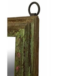Zrcadlo v rámu z teakového dřeva, 105x5x152cm