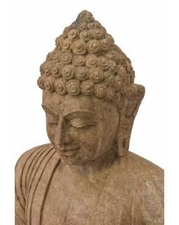 Pískovcová socha z Orissi, Buddha, 60x35x96cm