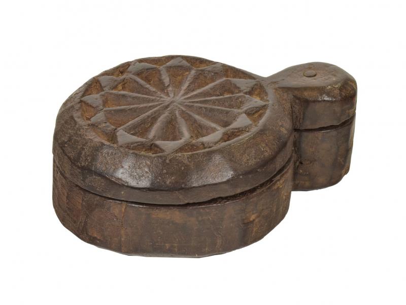 Krabička na Tiku, stará původní krabička na práškové barvy, 18x13x7cm