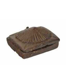 Krabička na Tiku, stará původní krabička na práškové barvy, 14x15x8cm