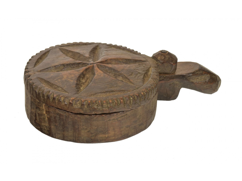 Krabička na Tiku, stará původní krabička na práškové barvy, 22x13x5cm