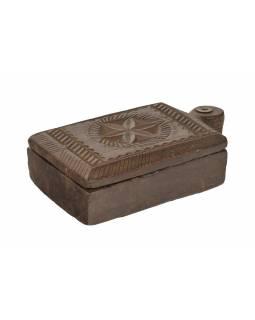 Krabička na Tiku, stará původní krabička na práškové barvy, 23x14x6cm