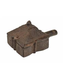 Krabička na Tiku, stará původní krabička na práškové barvy, 18x10x10cm