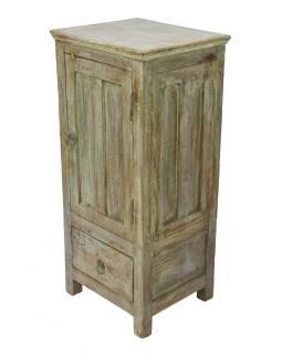 Skříňka z teakového dřeva, 41x36x92cm