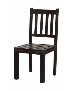 Dřevěná židle z palisandrového dřeva, 96x45x48cm